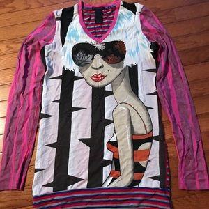 Custo Barcelona Dresses - Funky mini dress/tunic